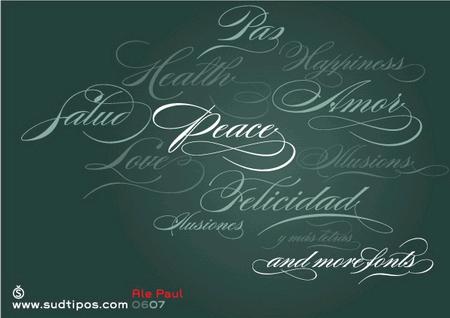 50个国外文字排版海报欣赏