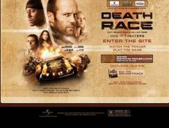 酷站欣赏:电影《死亡飞车(DeathRace)》网站