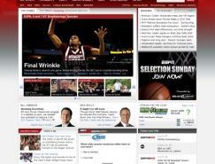 国外体育运动网站欣赏