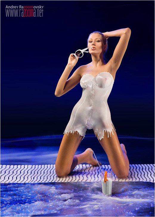 欧美人体艺术裸女