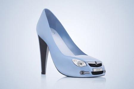 一组国外创意鞋设计欣赏