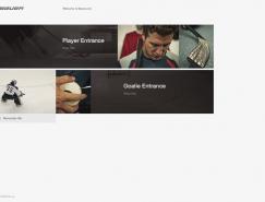 酷站欣赏:运动品牌Bauer网站