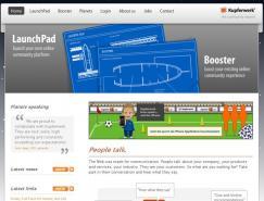 50个国外企业网站设计欣赏