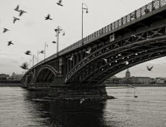 20张宏伟的桥梁黑白照片欣赏