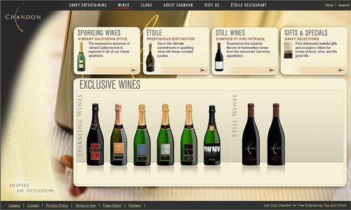 国外葡萄酒生产商企业网站设计
