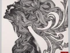 Gabriel素描风格个性插画欣赏