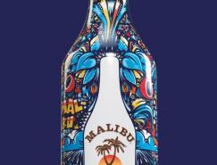 MalibuRum朗姆酒包装设计