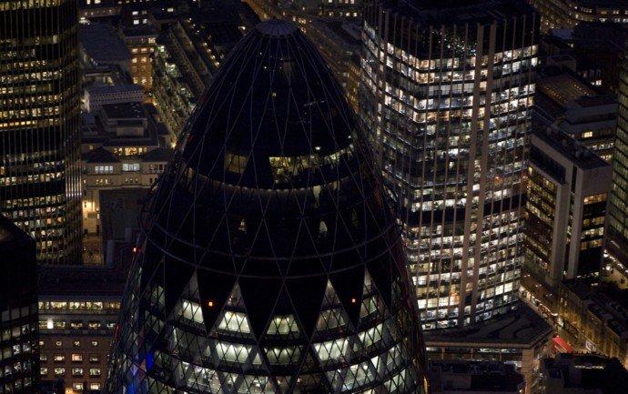 鸟瞰伦敦:伦敦夜景大赏