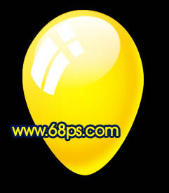 Photoshop制作漂亮的彩色气球