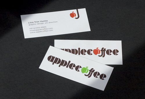 Applecoffee品牌VI设计