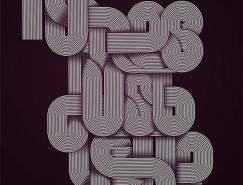 50款美妙英文艺术字体,体育投注