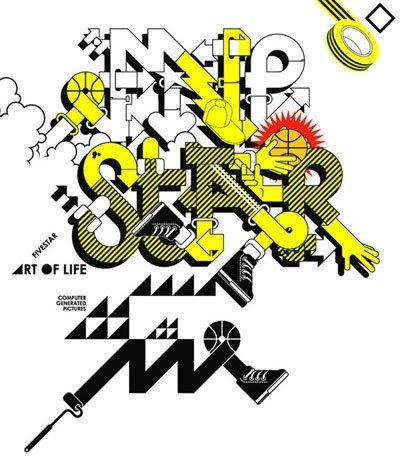 50款美妙英文艺术字体设计(5)