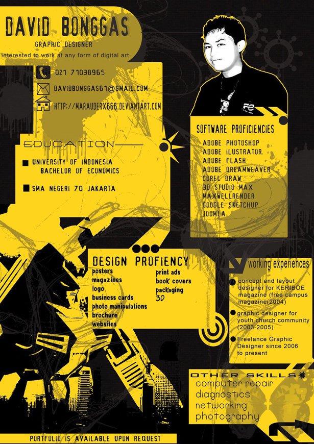 30个创意简历设计(3)图片