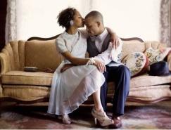 甜蜜情侶的浪漫攝影作品