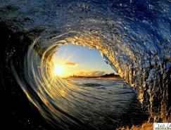 摄影师Clark漂亮的海浪摄影