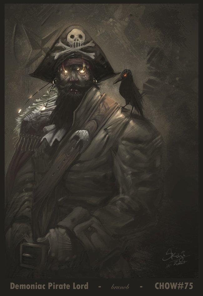 21张海盗题材插画欣赏
