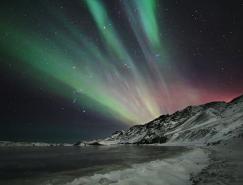 攝影欣賞:絢麗的北極光