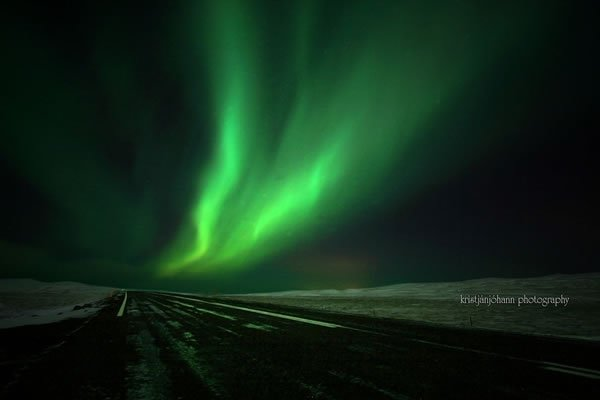 摄影欣赏:绚丽的北极光