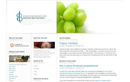 网页的栅格系统设计