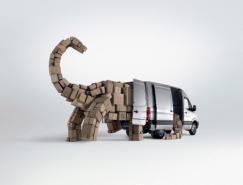 大众商旅车Crafter平面创意广告