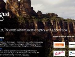 80款大背景图片的网站设计欣赏