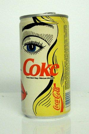 罐装可口可乐复古图案设计欣赏(2)