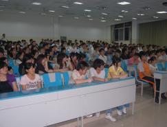 """2009""""中华元素创意大赛""""高校巡回讲座--常州工"""