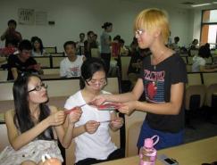 """2009""""中華元素創意大賽""""高校巡回講座--華南理工大學藝術學院"""