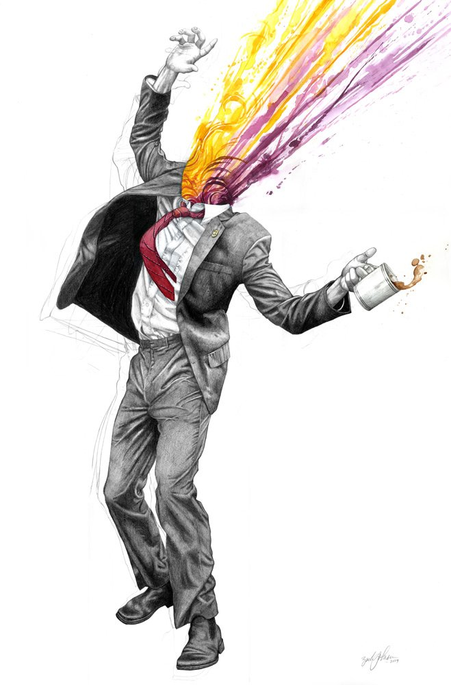johnsen富有想象力的插画作品图片