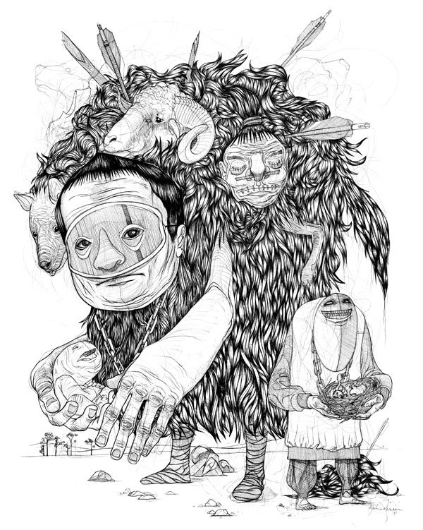 johnsen富有想象力的插画作品(2)图片