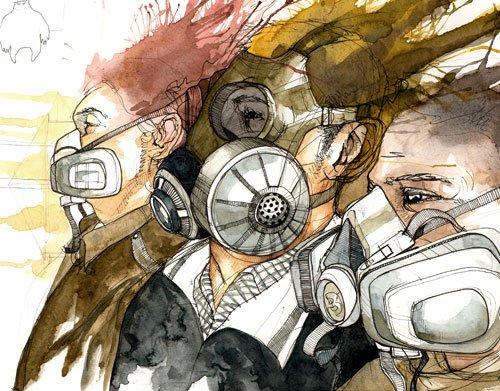 johnsen富有想象力的插画作品(3)图片