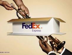 快遞品牌FedEx平面廣告