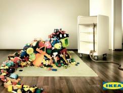 宜家存儲解決方案:IKEA平面廣告