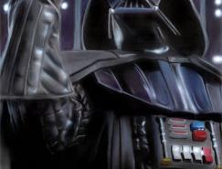 机械战将:DarthVader插画作品