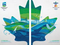 2010温哥华冬奥会官方海报及会徽、吉祥物解析