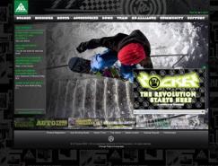 27个极限运动网站设计