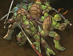 42张忍者神龟插画作品欣赏