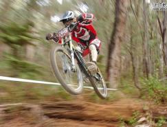 Photoshop打造火速行驶的自行车