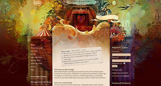 25个独特的优秀网页界面设计