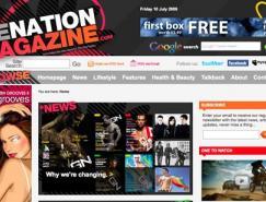 国外杂志风格网站欣赏