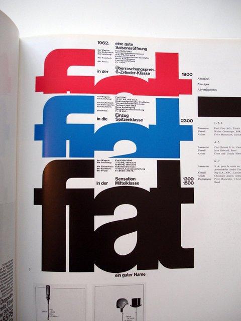 瑞士平面设计风格作品欣赏(3)广告设计的ps中图片