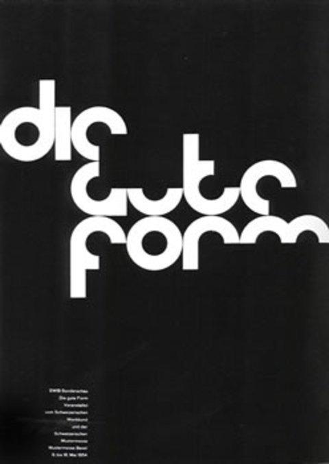 瑞士平面设计风格作品欣赏(8)如何在文字上绘制表格线图片