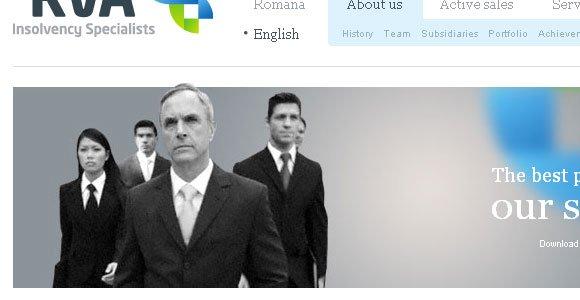 人物肖像在网站设计中的运用
