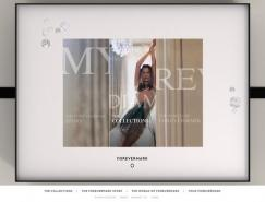 钻石品牌Forevermark网站欣赏