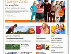 酷站欣赏:移动运营商Orange