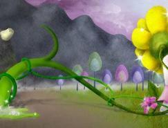 来自智利插画师的超可爱插画欣赏