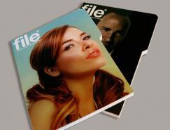 file杂志版面欣赏