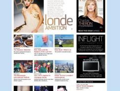 25个杂志风格布局网站欣赏