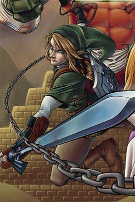 经典游戏《塞尔达传说》插画欣赏