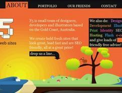 65个单页面网页设计